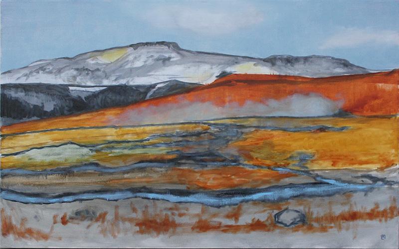 Geothermal Field, Bláskógabygg∂, Iceland 30