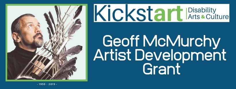 Geoff McMurchy Artist Development GRant